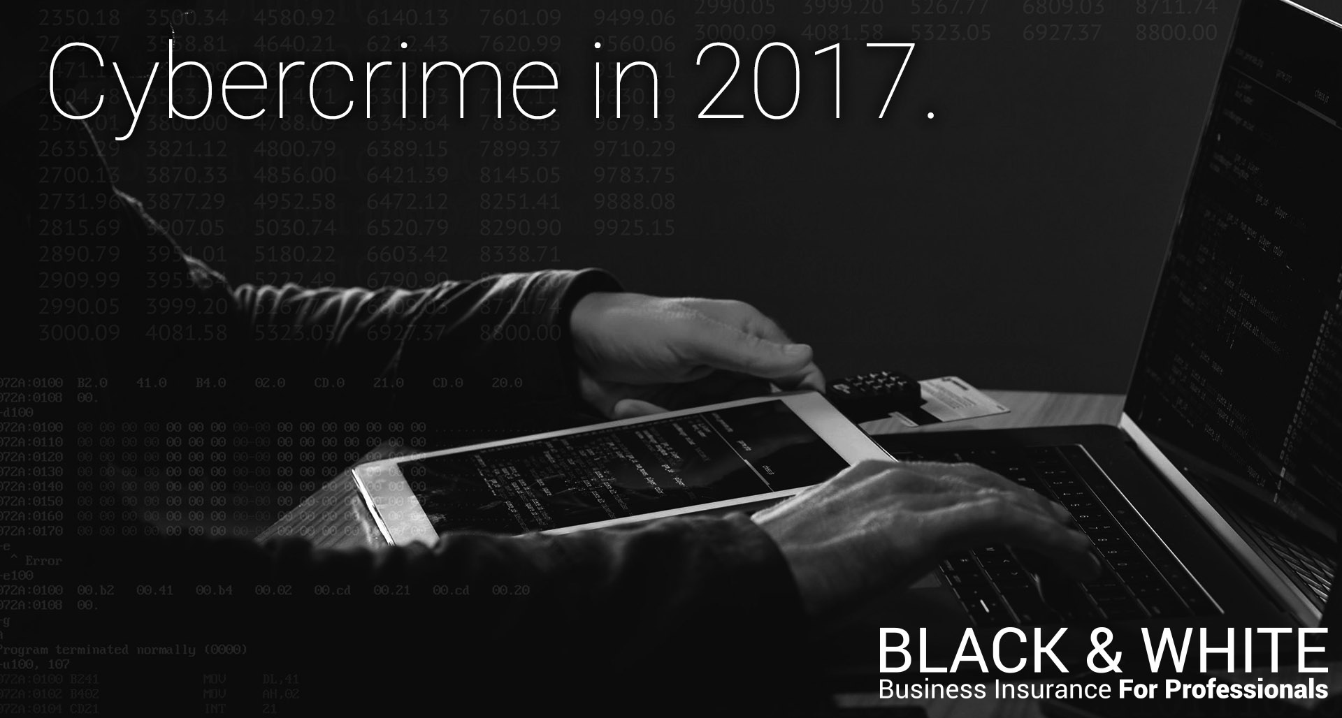 Cybercrime in 2017 | Black and White Insurance