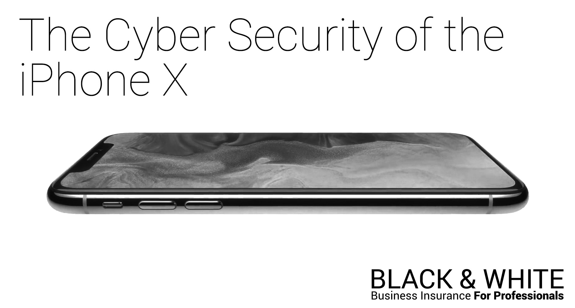 The Cyber Security of iPhone X