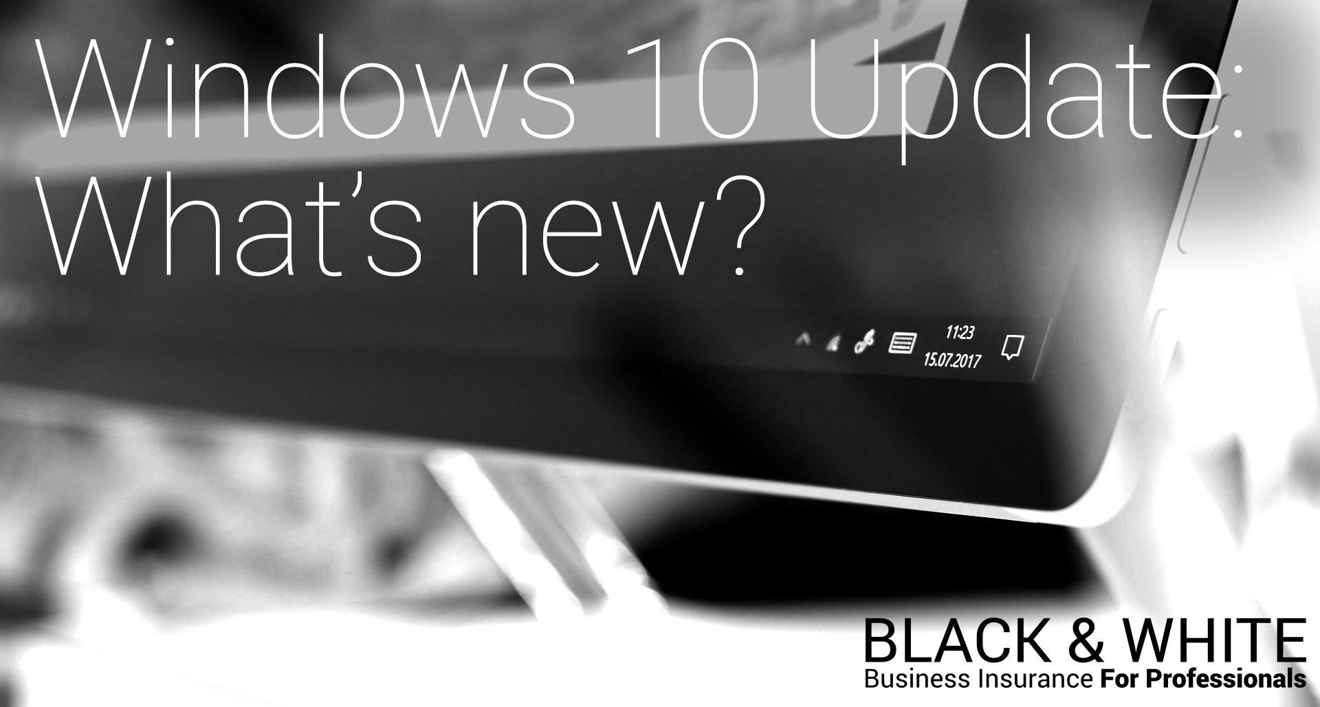 Should I update Windows 10? | Black and White
