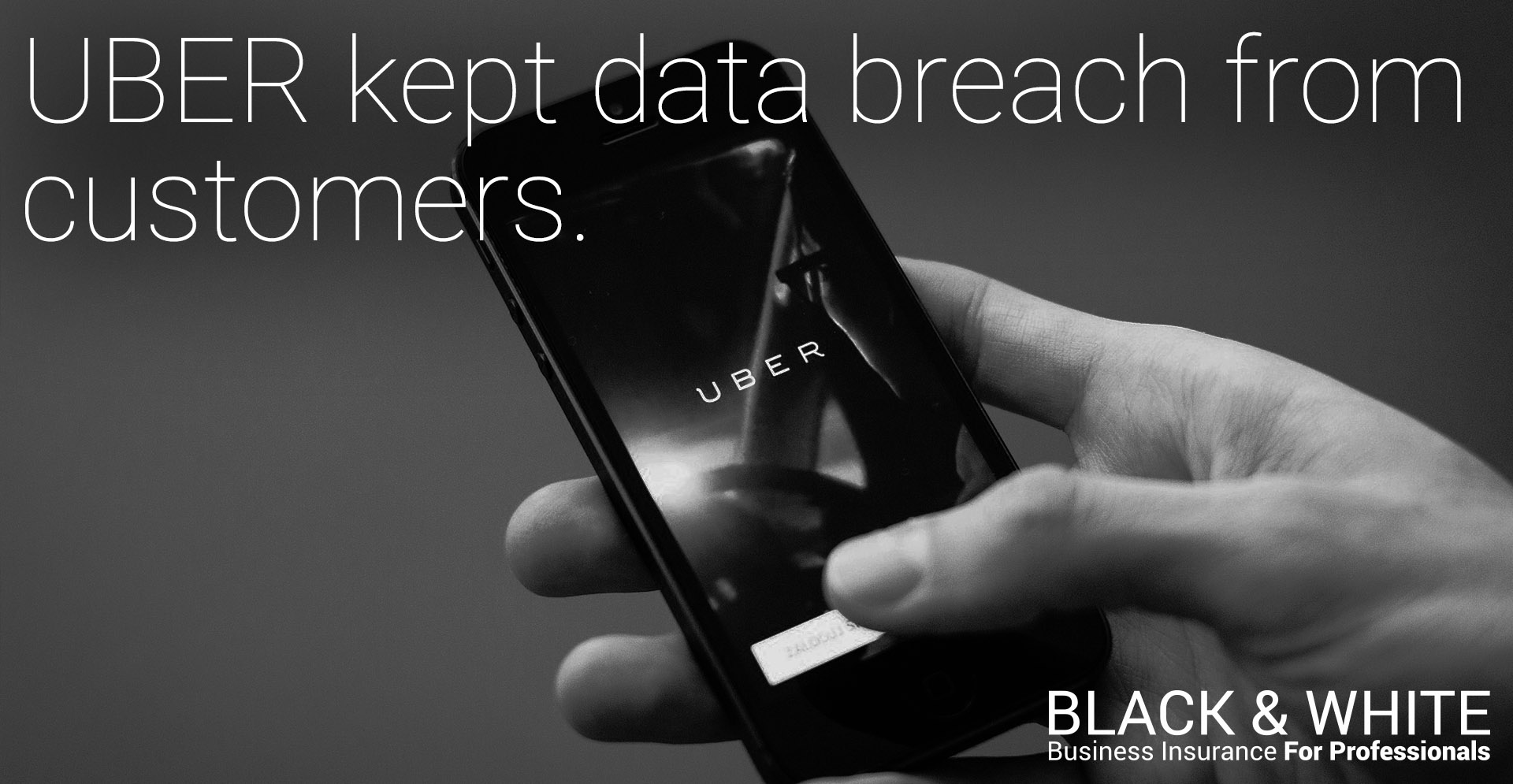 uber data breach | black and white insurance